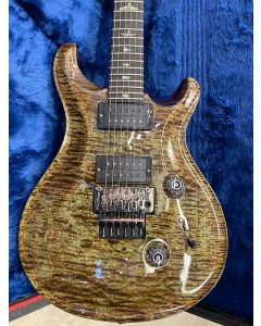PRS Custom 24 Wood Library limited edition , floyd rose, Green Mash artist grade one piece top