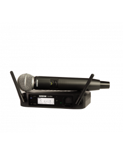 Shure DIGITAL WIRELESS VOCAL SYSTEM WITH SM58 VOCAL MICROPHONE